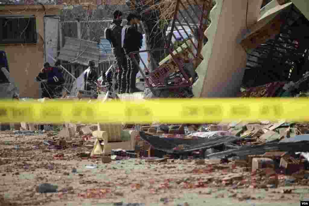 Diyarbakır - Cinarda bomba hücumu