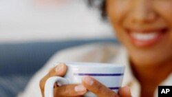 Women who drink more coffee were less likely to be diagnosed with depression, according to a new study.