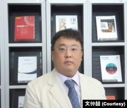 韩国产业研究院研究委员文钟喆 (照片由本人提供)