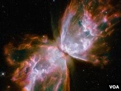 Gambar favorit Nancy Grace Roman, hasil dari bidikan Teleskop Antariksa Hubble dari Nebula 27 Juli 2009
