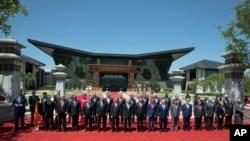 北京一带一路国际合作高峰论坛(36图)