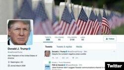 Le tweet de Trump écrit à 00h06 , le mercredi 31 mai 2017.