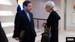 Zamenik šefa diplomatije Irana Abas Aragči i Vendi Šerman danas u Beču
