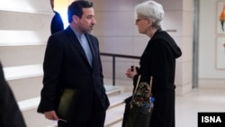Iran US deputy FMs Araghchi Sherman Vienna