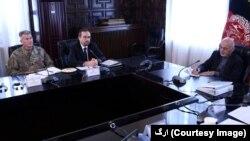 رئیس جمهوری محمد اشرف غنی این جلسات را ریاست میکند