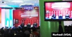 Diskusi Indonesia Merdeka Indonesia Beradab di Kampus UII, Rabu 5 September 2018. (Foto: VOA/Nurhadi)