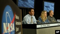 فیروز نادری، مدیر بلندپایه ناسا