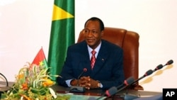 Burkina Faso President Blaise Compaore (file photo)
