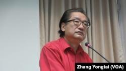台灣執政黨國民黨立委李慶華(美國之音張永泰拍攝)