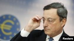 歐洲中央銀行行長德拉吉(資料圖片)