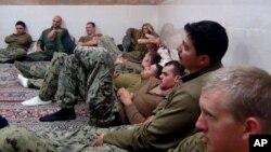 伊朗革命衛隊早前發表被扣美軍的照片