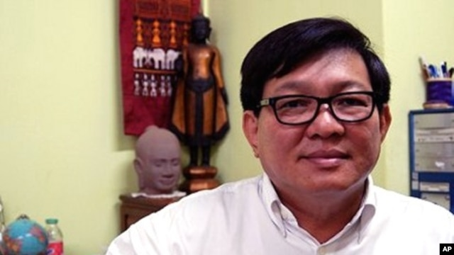 Son Chhay, a legislator with the opposition Sam Rainsy Party
