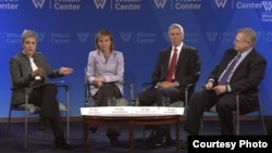 Experts discussed U.S. leadership on climate change in Asia-Pacific and the impacts of climate change on global security at a report launch at Wilson Center on Tuesday, November 17, 2015. (Wilson Center)