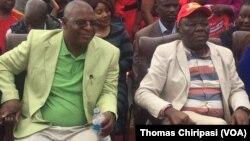 Muzvinafundo Welshman Ncube vakapinda mumubatanidzwa naVaMorgan Tsvangirai