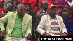 VaMorgan Tsvangirai naMuzvinafundo Welshman Ncube