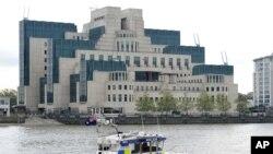Штаб-квартира MI6 на берегу Темзы в Лондоне.
