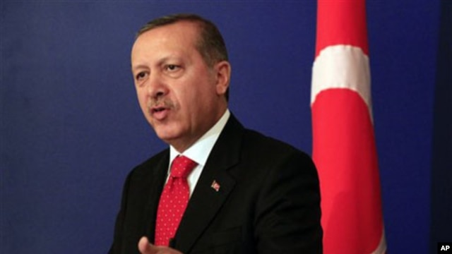 Turkish Prime Minister Recep Erdogan (file photo)