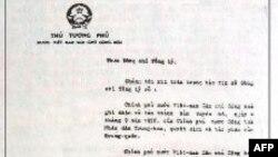 Công hàm Phạm Văn Đồng