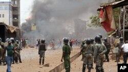 Violences dans la capitale guinéenne le 13 avril 2015