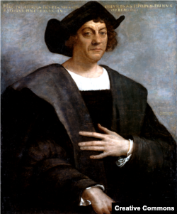 Portrait of a Man, Said to be Christopher Columbus, by Sebastiano del Piombo, 1519.