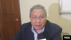 Roger Arteaga, ex director de la DGI, de Nicaragua. Foto: Daliana Ocaña. Septiembre 30 de 2019.