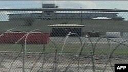 Центр содержания под стражей в Гуантанамо.