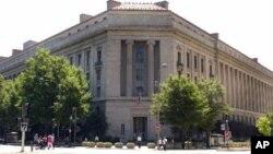 美国司法部总部(2001年8月2日资料照片)