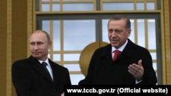 Ruski i turski predsednik, Vladimir Putin i Redžep Tajip Erdogan