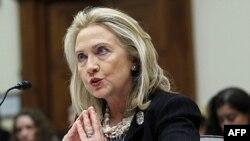 Ngoại trưởng Clinton điều trần trước Ủy ban Ngoại vụ Hạ viện Hoa Kỳ về Afghanistan và Pakistan hôm 27/10/11