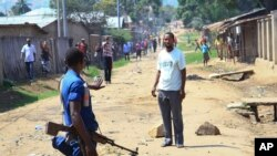 Uruhagarara rwa politike mu Burundi