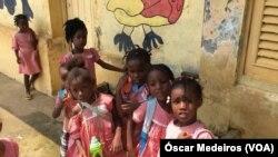 Crianças, São Tomé e Príncipe
