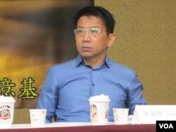 台灣在野黨時代力量黨立委徐永明(美國之音張永泰拍攝)