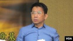 台湾在野党时代力量党立委徐永明(美国之音张永泰拍摄)