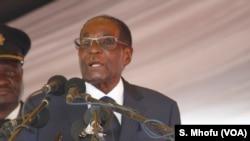 Rais Robert Mugabe wa Zimbabwe.