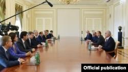 Prezident İlham Əliyev və Moskva meri Sergey Sobyanin