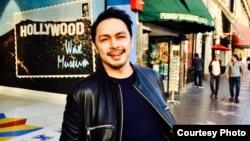 Thomas Djorghi sedang menikmati liburan akhir tahun di kota Los Angeles, California, AS. (foto: courtesy).
