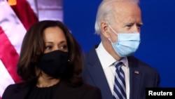UNkosazana Kamala Harris loMnu. Joe Biden