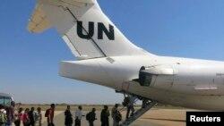 聯合國非關鍵人員撤離南蘇丹