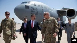 این نخستین سفر کارتر به صفت وزیر دفاع به عراق می باشد