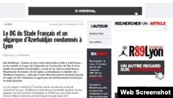 Fransanın RUE89LYON saytı
