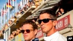 """FordvFerrari"""" cuenta la historia real del equipo deportivo deFord, liderado por el diseñador Carroll Shelby (Matt Damon) y su piloto británico Ken Miles (Christian Bale). Foto: Merrick Morton/20th Century Fox via AP."""