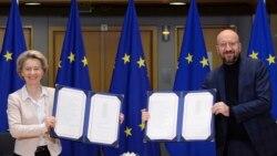 Brexit လြန္ EU နဲ႕႔ ကုန္သြယ္မႈ သေဘာတူညီခ်က္ ၿဗိတိန္ပါလီမန္ အတည္ျပဳ