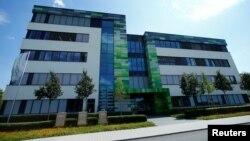 Trụ sở công ty Công nghê sinh học BioNtech của Đức tại Mainz, Đức, (ảnh chụp ngày 31/7/2018)