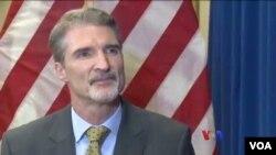 USAID ေအဂ်င္စီ ရန္ကုန္ရံုးခြဲဒါရိုက္တာ Chris Milligan