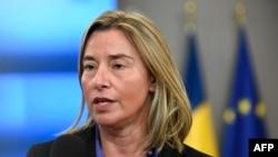 فدریکا موگرینی مسئول سیاست خارجی اتحادیه اروپا - آرشیو