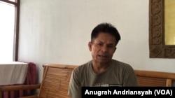 Mohammad Habib (49) pengungsi etnis Muslim-Rohingya di Medan, Sumatra Utara, Senin, 17 Juni 2019. (Foto: Anugrah Andriansyah/VOA)