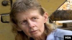 西维吉尼亚州伐木女工潘妮•克拉克 (视频截图)