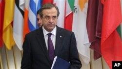 Thủ Tướng Hy Lạp Antonis Samaras.