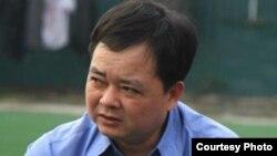Luật sư Hà Huy Sơn, đại diện pháp lý của ông Lê Quốc Quân.