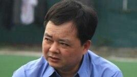 Luật sư Hà Huy Sơn, một trong những đại diện pháp lý miễn phí cho gia đình ông Vươn tại phiên phúc thẩm.